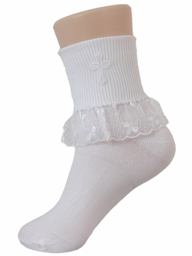 Girls Communion Nylon Socks