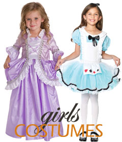 Fairy Tale and Princess Halloween Costumes for Girls