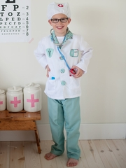 Green Doctor Play Set