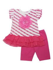 Haute Baby Bubblegum Fun Tunic Set