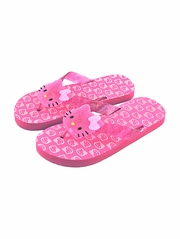 FLASH SALE: Hello Kitty Hot Pink Large Icon Sandals