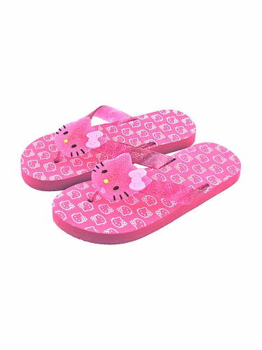 Hello Kitty Hot Pink Large Icon Sandals