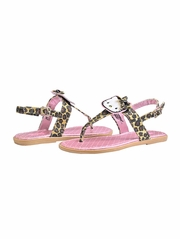 Hello Kitty Nat Leopard Sandal