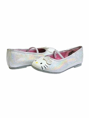Hello Kitty Silver Lil� Abbey Shoes