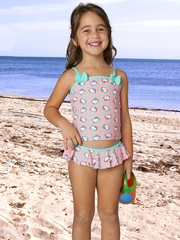 Hello Kitty Sweet Dreams Ruffle & Bows Tankini Set