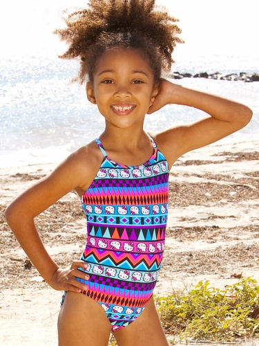Hello Kitty Tribal Aztec Printed One Piece