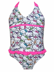 Hello Kitty White Ruffle 2PC Tankini