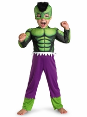 Hulk Toddler Muscle Costume