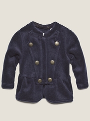 IKKS Navy Military Cardigan