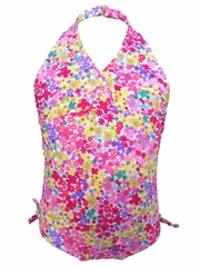Ingear Fashions Assorted Flowers 1PC Swimsuit