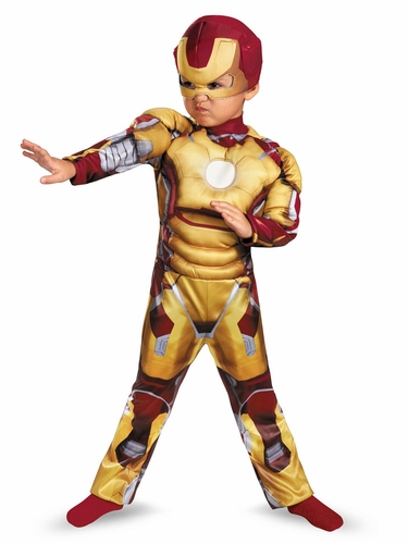 Iron Man Mark 42 Toddler Muscle