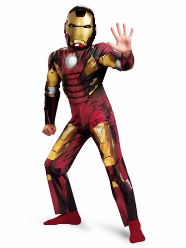 Iron Man � Mark VIII Avengers Movie Classic Muscle Costume