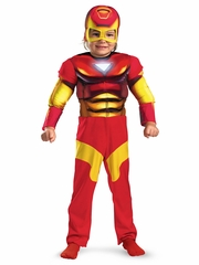 Iron Man Toddler Muscle Kids Costume