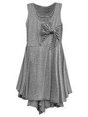 Isobella & Chloe Misty Heather Gray Dress