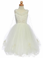 Ivory Pageant Dresses