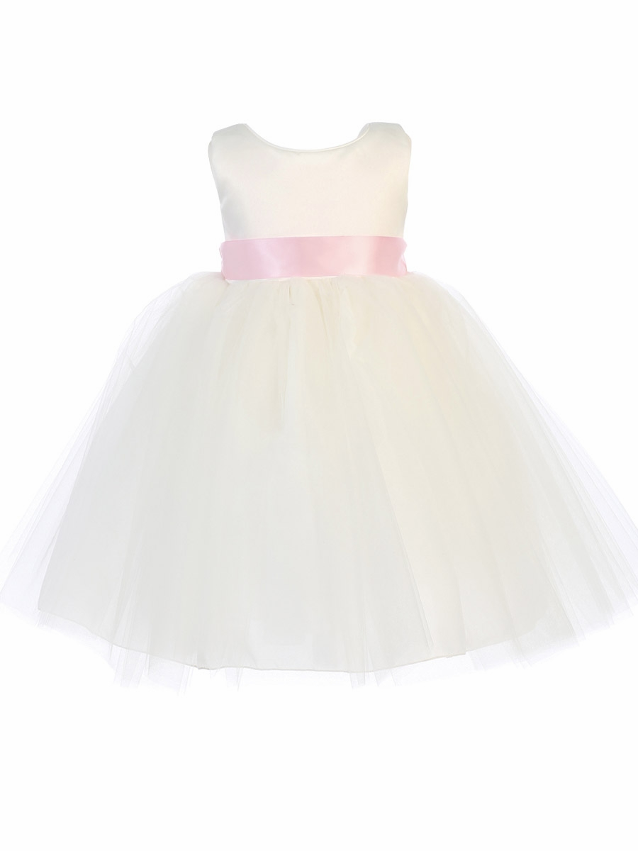f6af2e3be24 ... Dress w  Bow   Flower Satin Ribbon Sash. Click to Enlarge ...