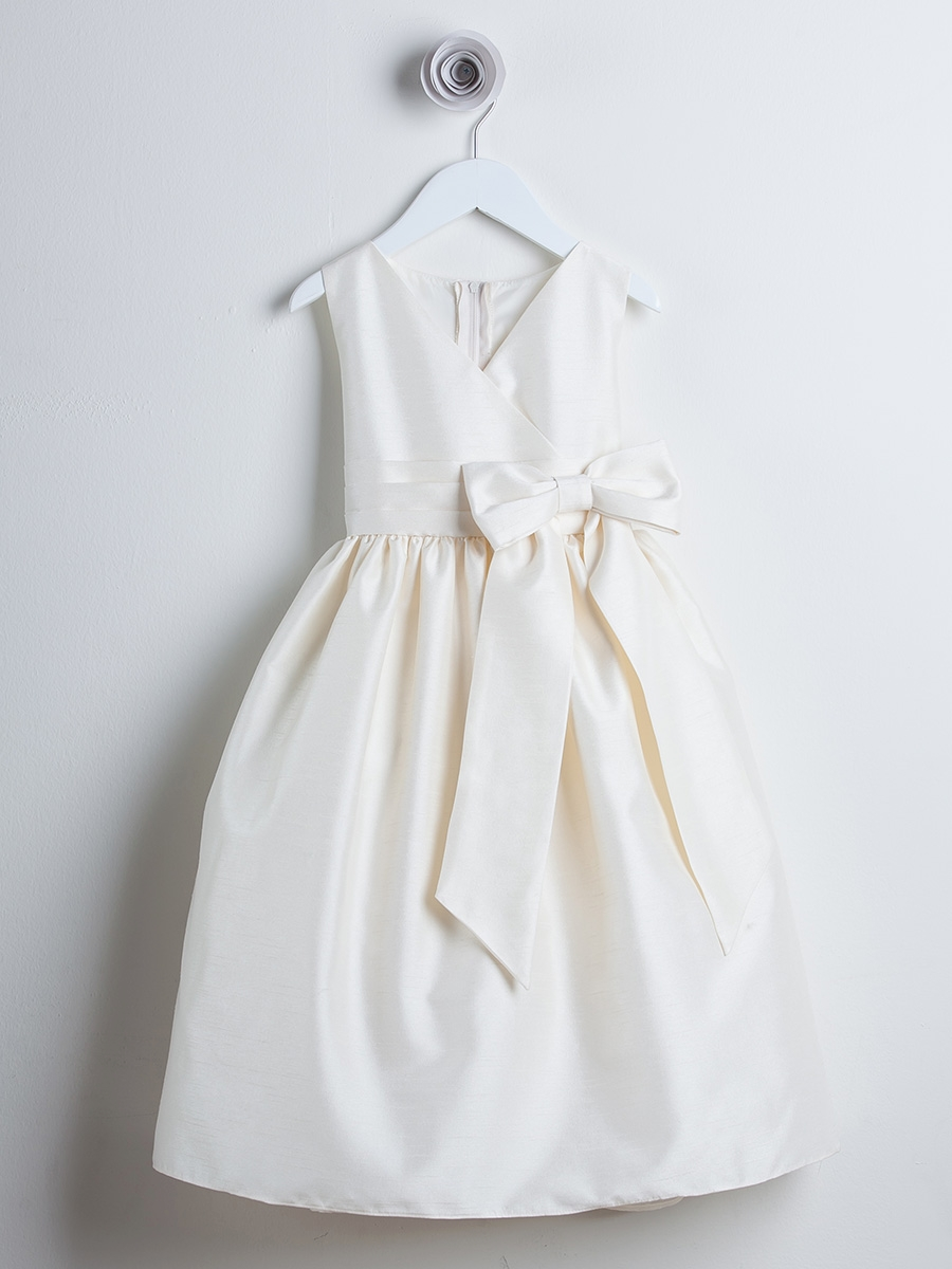 2f8dc0f1452 Ivory Flower Girl Dresses - PinkPrincess.com