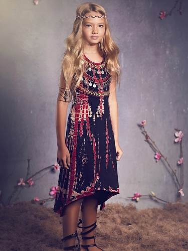 Jak & Peppar Blackberry Sun & Moon Dress