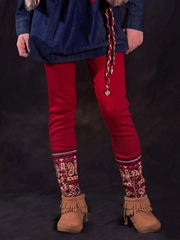 Jak & Peppar Crimson Laney Leggings