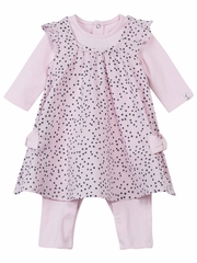 Jean Bourget Baby Rose All in One Combination Set