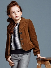 FLASH SALE: Jean Bourget Brown Corduroy Jacket