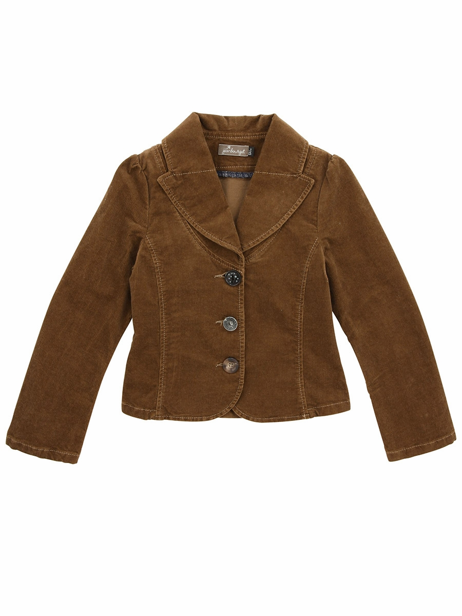 Jean Bourget Brown Corduroy Jacket