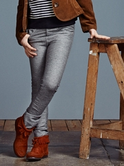 Jean Bourget Gray Trousers