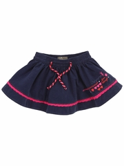 Jean Bourget Navy Skirt