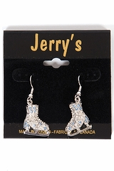 Jerry's 1281 Blue Crystal Skate Earrings