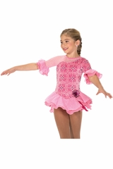 Jerry''s 208 Pink Hibiscus Whirl Dress