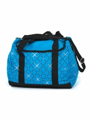 Jerry's 5030 Blue Diamond Crystal Carry All Skate Bag