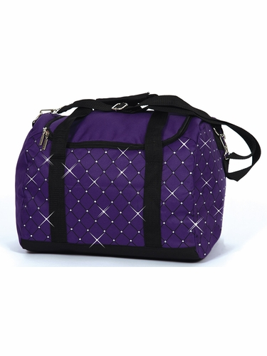 Jerry's 5020 Plum Diamond Crystal Carry All Skate Bag