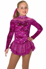 Jerry's 55 Fuchsia Crystalline Dress