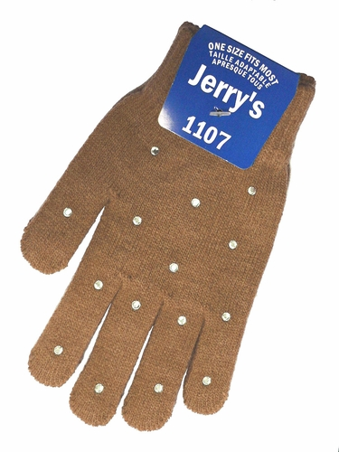 Jerry's 1107 Beige Crystal Mini Gloves