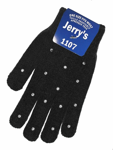 Jerry's 1107 Black Crystal Mini Gloves