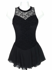 Jerry's Black Overlace Dress