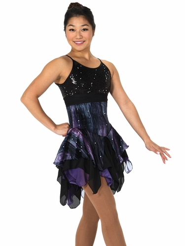 Jerry's 102 Black / Purple Smoke & Mirrors Dress
