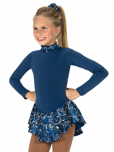 Jerry's 16 Blue Frost on Fleece Dress