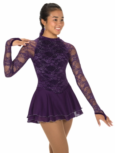 Jerry's Deep Purple Lace Chanson Dress