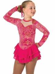 CLEARANCE - Jerry's 60 Hot Pink Fire Rays Dress