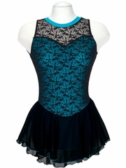 Jerry's 135 Blue Overlace Dress