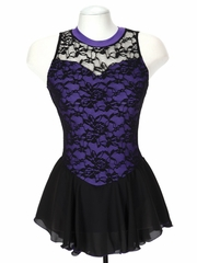 Jerry's 135 Purple Overlace Dress