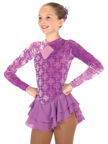 Jerry's Purple Rink Link Dress