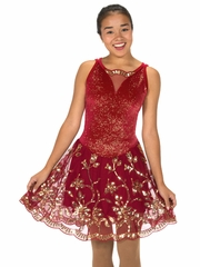 Jerry�s Rouge D' Or Dance Dress