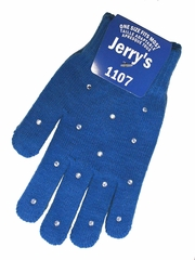 Jerry's 1107 Royal Blue Crystal Mini Gloves