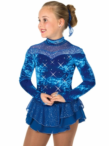 Jerry's 55 Royal Blue Crystalline Dress