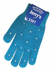 Jerry's 1107 Turquoise Crystal Mini Gloves