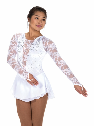 Jerry's White 249 Cameo Crystal Dress
