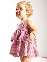CLEARANCE: Joah Love Vera Stripe Dress Set