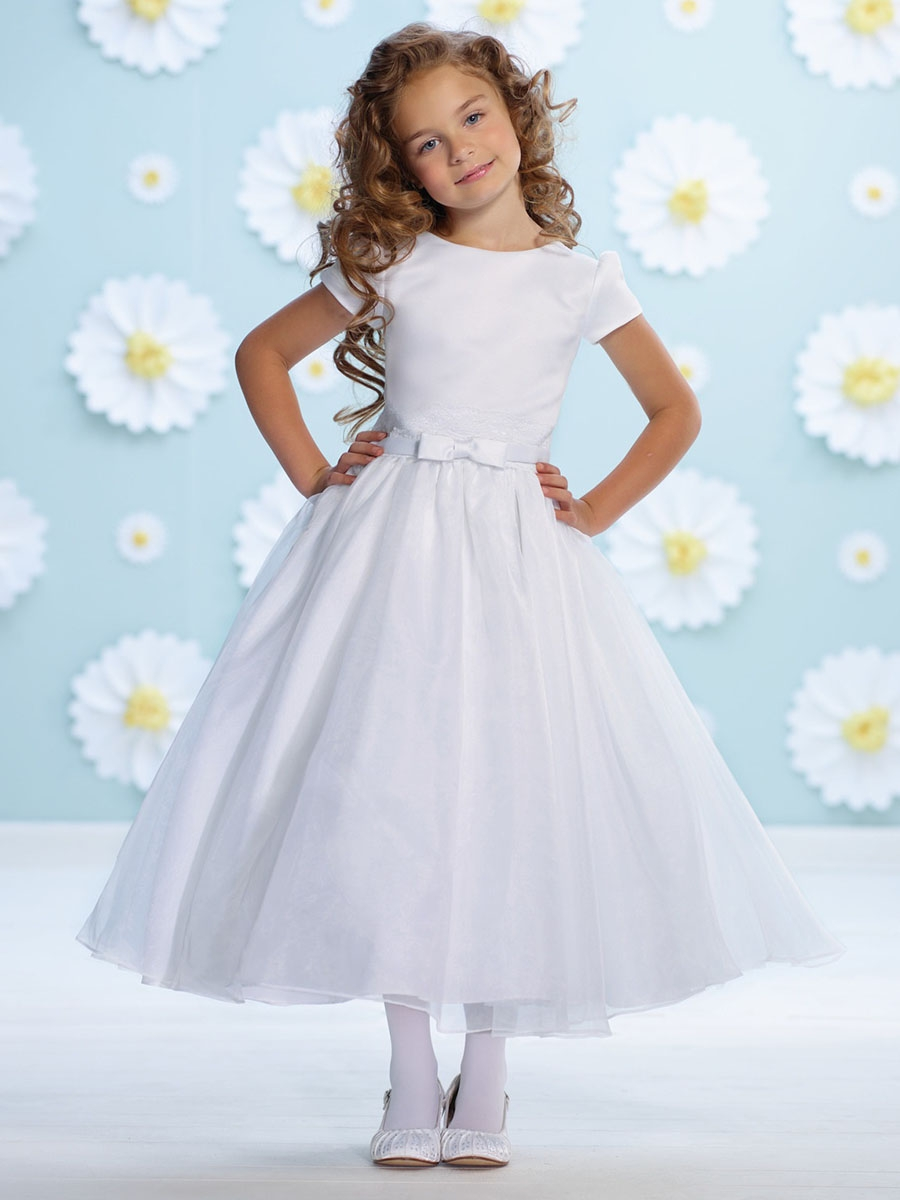 White Dress with Bow